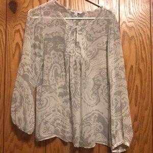 Cabi sheer blouse